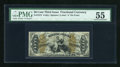 Fractional Currency:Third Issue, Fr. 1373 50c Third Issue Justice PMG About Uncirculated 55....