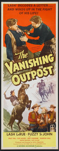 """Movie Posters:Western, The Vanishing Outpost (Western Adventures Pictures, 1951). Insert(14"""" X 36"""") and Stills (25). Western.. ... (Total: 26 Items)"""