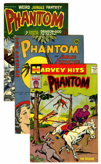 The Phantom Golden and Silver Age Box Lot Group (1936-1977)