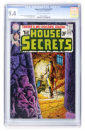 Bronze Age (1970-1979):Horror, House of Secrets #83 (DC, 1970) CGC NM 9.4 Off-white to whitepages....