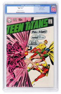 Teen Titans #22 Pacific Coast pedigree (DC, 1969) CGC NM+ 9.6 Off-white to white pages