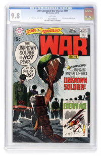 Star Spangled War Stories #151 (DC, 1970) CGC NM/MT 9.8 White pages