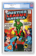 Silver Age (1956-1969):Superhero, Justice League of America #69 (DC, 1969) CGC NM/MT 9.8 White pages....