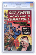 Silver Age (1956-1969):War, Sgt. Fury and His Howling Commandos #27 (Marvel, 1966) CGC NM+ 9.6 Off-white to white pages....