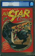 Golden Age (1938-1955):Superhero, All Star Comics #20 (DC, 1944) CGC VF- 7.5 Off-white to white pages.