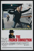 "Movie Posters:Academy Award Winner, The French Connection (20th Century Fox, 1971). One Sheet (27"" X41""). Academy Award Winner. Starring Gene Hackman, Fernando..."
