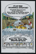 "Movie Posters:Animated, Race for Your Life, Charlie Brown (Paramount, 1977). One Sheet (27"" X 41""). Animated...."