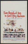 "Movie Posters:Adventure, Those Magnificent Men in Their Flying Machines (20th Century Fox,1965). Window Card (14"" X 22""). Adventure. Starring Stuart..."