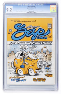 Zap Comix #1 First Printing (Apex Novelties, 1967) CGC NM- 9.2 Off-white pages