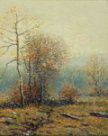 Fine Art - Painting, American:Modern  (1900 1949)  , GEORGE W. DREW (American, 1875-1968). Gray Day, December,1921. Oil on artist's board. 10 x 8 inches (25.4 x 20.3 cm). S...