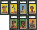 Baseball Cards:Sets, 1958 Topps Baseball Near Set (490/494). ...