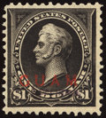 Stamps, 1899, 1c-$1 Type I & 10c Special Delivery, Specimen Overprints (1S-12S, E1S),... (Total: 2 Card)