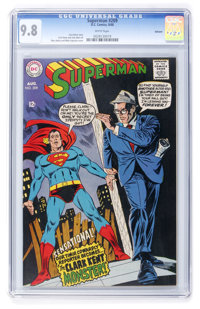Superman #209 Oakland pedigree (DC, 1968) CGC NM/MT 9.8 White pages