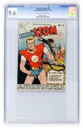 Golden Age (1938-1955):Science Fiction, Captain Atom #3 (Nationwide Publications, 1951) CGC NM+ 9.6Off-white to white pages....