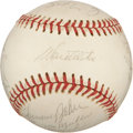 Autographs:Baseballs, 1973 Los Angeles Dodgers Team Signed Baseball from Dixie Walker....