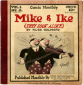 Platinum Age (1897-1937):Miscellaneous, Comic Monthly #2 Mike & Ike (Embee Dist. Co., 1922)Condition: FN....