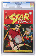 Golden Age (1938-1955):Superhero, All Star Comics #29 (DC, 1946) CGC NM- 9.2 White pages....