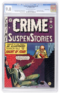 Crime SuspenStories #3 Gaines File pedigree 8/11 (EC, 1951) CGC NM/MT 9.8 Off-white to white pages