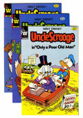 Modern Age (1980-Present):Cartoon Character, Uncle Scrooge Group (Whitman, 1982-84) Condition: Average NM-.... (Total: 10 Comic Books)