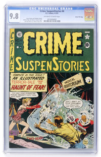 Crime SuspenStories #4 Gaines File pedigree 3/11 (EC, 1951) CGC NM/MT 9.8 Off-white to white pages