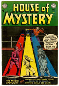 Silver Age (1956-1969):Horror, House of Mystery #21 (DC, 1953) Condition: VG....