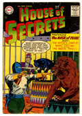 Silver Age (1956-1969):Horror, House of Secrets #2 (DC, 1957) Condition: VG-....