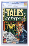 Golden Age (1938-1955):Horror, Tales From the Crypt #21 Gaines File pedigree 10/10 (EC, 1951) CGCNM 9.6 Off-white pages....