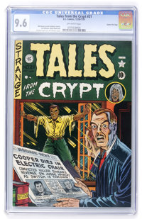 Tales From the Crypt #21 Gaines File pedigree 10/10 (EC, 1951) CGC NM 9.6 Off-white pages