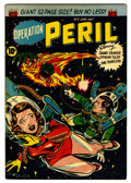 Golden Age (1938-1955):Science Fiction, Operation Peril #5 (ACG, 1951) Condition: VG/FN....