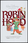 "Movie Posters:Animated, Robin Hood (Buena Vista, R-1982). One Sheet (27"" X 41""). Animated.. ..."