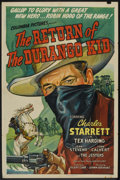"""Movie Posters:Western, The Return of the Durango Kid (Columbia, 1945). One Sheet (27"""" X 41""""). Western.. ..."""