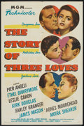 "Movie Posters:Romance, The Story of Three Loves (MGM, 1953). One Sheet (27"" X 41""). Romance.. ..."