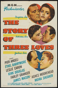 "The Story of Three Loves (MGM, 1953). One Sheet (27"" X 41""). Romance"