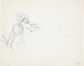 Animation Art:Production Drawing, Red Walking Hood Wolf and Egghead Production Drawing Animation Art (Warner Brothers, 1938).... (Total: 2 Original Art)