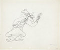 Animation Art:Production Drawing, Uncle Tom's Cabaña Uncle Tom and Simon Legree ProductionDrawing Animation Art Group (MGM, 1947).... (Total: 2 Items)