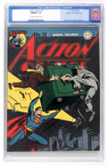 Golden Age (1938-1955):Superhero, Action Comics #70 Mile High pedigree (DC, 1944) CGC NM/MT 9.8 Off-white to white pages....