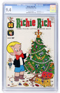 Silver Age (1956-1969):Humor, Richie Rich #8 File Copy (Harvey, 1962) CGC NM 9.4 Cream to off-white pages....