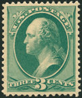 Stamps, 3c Green (184),...