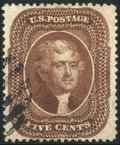 Stamps, 5c Brown, Type ll (30A),...