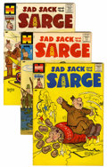 Silver Age (1956-1969):Humor, Sad Sack and the Sarge File Copy Group (Harvey, 1957-59) Condition: Average VF+.... (Total: 11 Comic Books)
