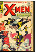 Silver Age (1956-1969):Superhero, X-Men #1-66 Stan Lee Signed Bound Volumes (Marvel, 1963-70)....(Total: 3 Items)