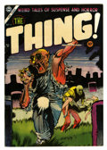 Golden Age (1938-1955):Horror, The Thing! #16 (Charlton, 1954) Condition: FN+....