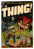 Golden Age (1938-1955):Horror, The Thing! #13 (Charlton, 1954) Condition: FN....