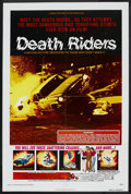 "Movie Posters:Documentary, Death Riders (Crown International, 1976). One Sheet (27"" X 41""). Documentary.. ..."