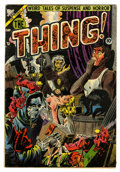 Golden Age (1938-1955):Horror, The Thing! #11 (Charlton, 1953) Condition: FN....