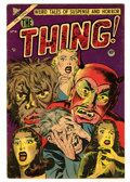 Golden Age (1938-1955):Horror, The Thing! #10 (Charlton, 1953) Condition: FN....