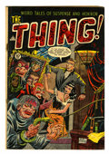 Golden Age (1938-1955):Horror, The Thing! #8 (Charlton, 1953) Condition: VG+....