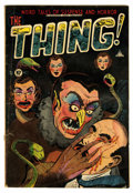 Golden Age (1938-1955):Horror, The Thing! #7 (Charlton, 1953) Condition: VG-....
