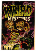 Golden Age (1938-1955):Horror, Weird Mysteries #2 (Gillmor, 1952) Condition: VG/FN....