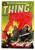 Golden Age (1938-1955):Horror, The Thing! #2 (Charlton, 1952) Condition: FN-....